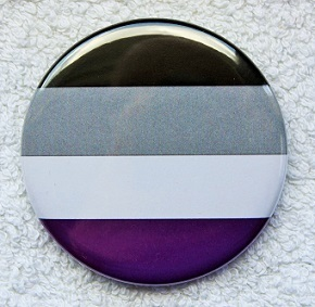 Asexuell Button L