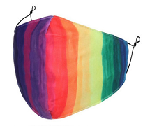 Rainbow Corona Face Mask